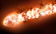Kula ognia na niebie