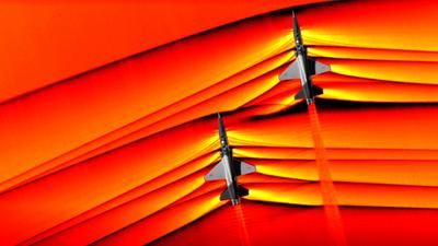 NASA pokazuje zdjęcia fal uderzeniowych