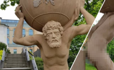 Pomnik Atlasa w Opolu