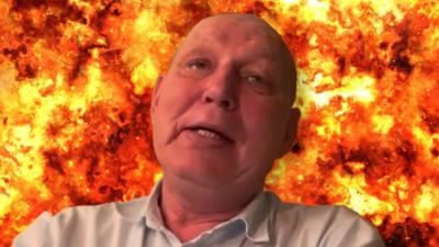 Jasnowidz Jackowski ujrzał pożar w Warszawie - mroczna wizja z Człuchowa