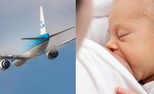 Karmienie piersią w samolocie - linie lotnicze czeka wizerunkowa katastrofa?