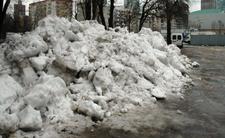 Śnieg jest brudny