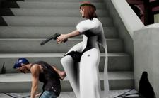 "Brutalna gra komputerowa przypominające Grang Theft Auto (GTA) - ""Jesus Strikes Back: Judgement Day"" . Gracze grają jako Jezus, Trump, Putin, Napoleon i Hitler"