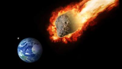 Asteroida i zagrożenie dla Ziemi - skała z kosmosu zniszczy Walentynki?