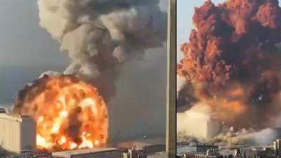 Jasnowidz przewidział wybuch w Bejrucie