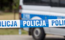 Atak nożownika na komendzie - kobieta została ranna
