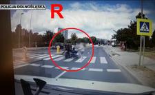 Motocyklista wjechał w wózek z niemowlęciem. Przerażające wideo