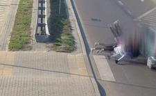 75-letni kierowca potrącił nastolatki