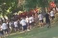 Bitwa kiboli przed meczem Macedonia-Polska. Wstyd na cały świat