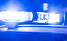 Obława policji w Pabianicach