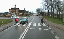 Wypadek w Olbięcinie