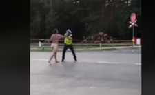 Z klejnotami na wierzchu rzucił się na policjanta