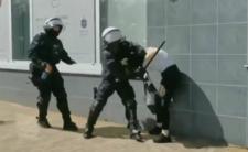 Brutalna akcja policji w Głogowie
