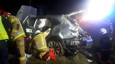 Wypadek samochodowy. Zginął polski milioner?