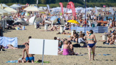 Pedofil zaatakował na plaży w Sopocie. Policja zgubiła ofiarę