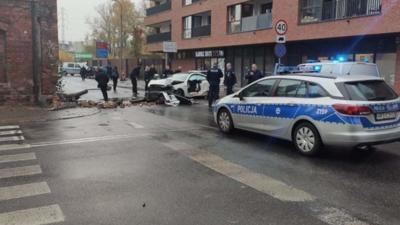 Niebezpieczny pościg w Warszawie