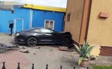 Szczytno i wypadek samochodowy - Mustangiem zmasakrował dzieci