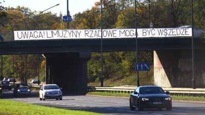 Wypadek SOP w Warszawie