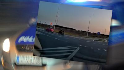 Wypadek pod Wrocławiem. Motocyklista zginął uderzając w samochód