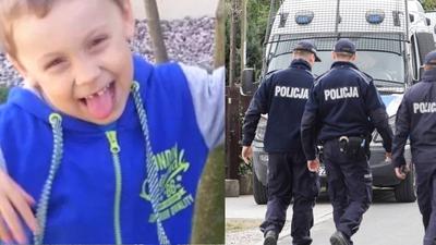 Trwają poszukiwania Dawida - policja pokazała zdjęcie jego ojca