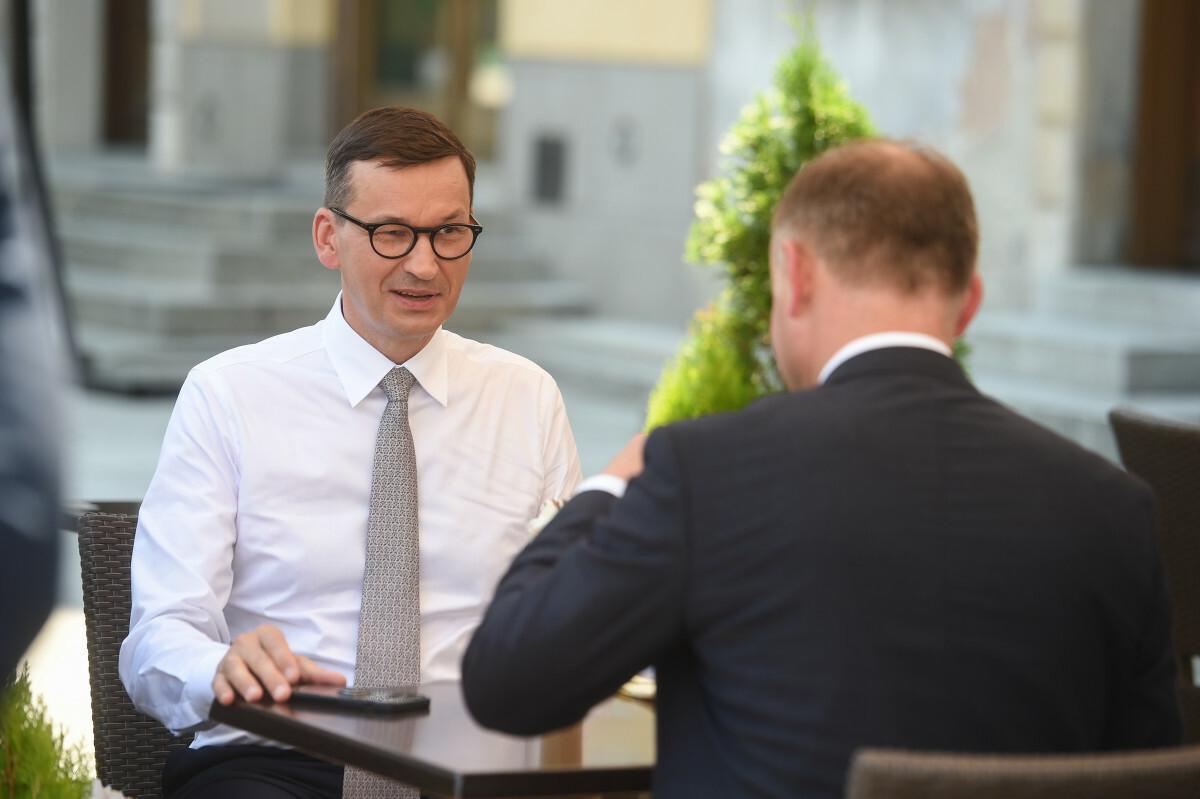 Andrzej Duda i Mateusz Morawiecki oddali się słodkim przyjemnościom