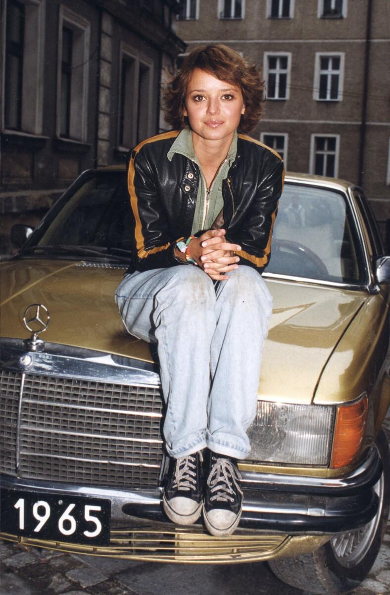 Anna Przybylska w 1999 roku