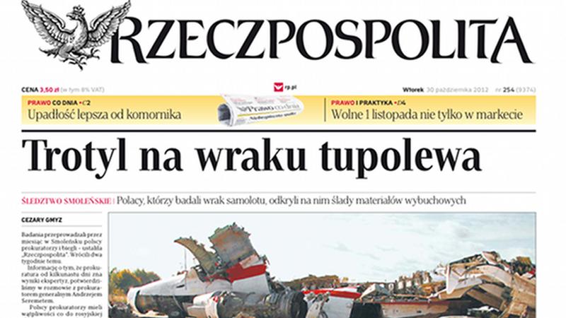 """Artykuł Cezarego Gmyza w """"Rzeczpospolitej"""""""