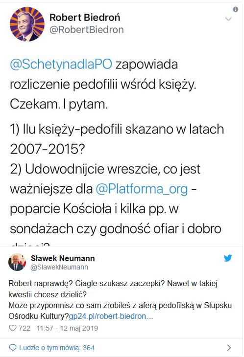 Biedroń i pedofilia w Słupsku