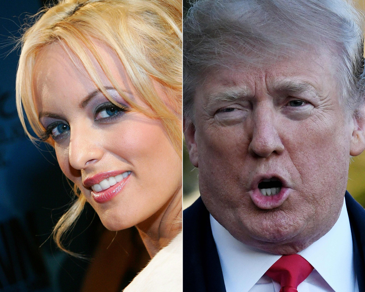 Donald Trump i romans z gwiazdą porno Stormy Daniels