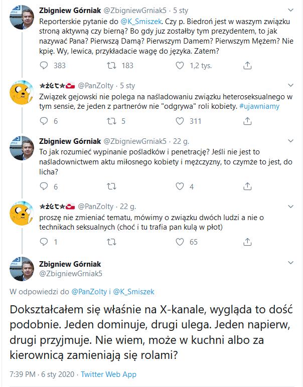 Dziennikarz TVP atakuje