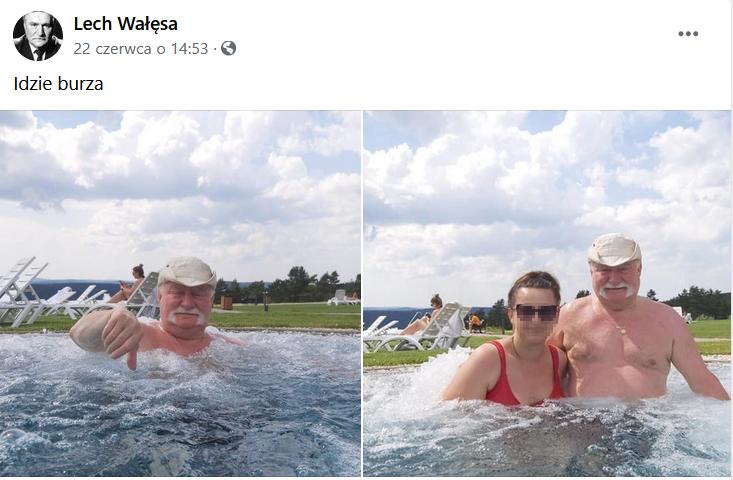 Facebook / Lech Wałęsa