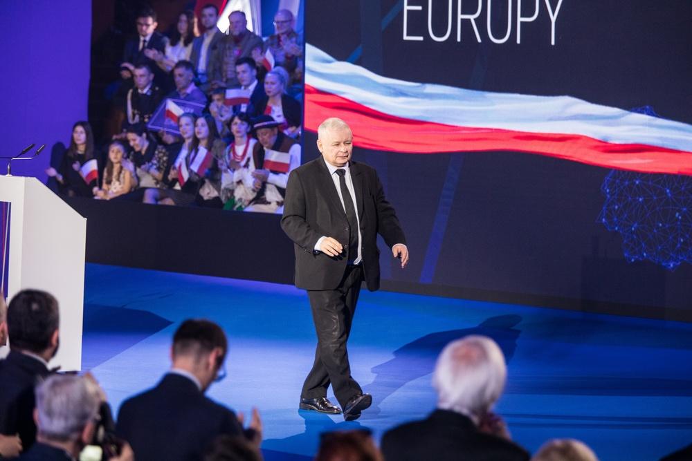 Jarosław Kaczyński w najnowszym wydaniu, fot. Jan GRACZYNSKI/East News