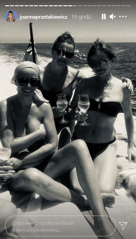 Joanna Przetakiewicz topless na Instagramie