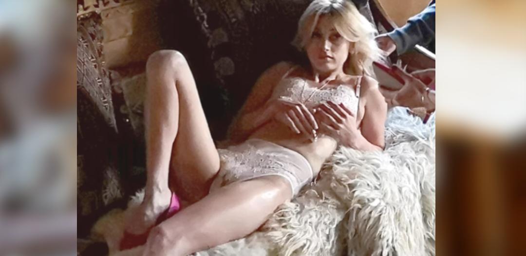 Justyna Żyła nago - sesja w Playboyu