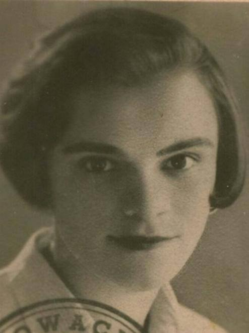 Krystyna Feldman w młodość, fot. Facebook