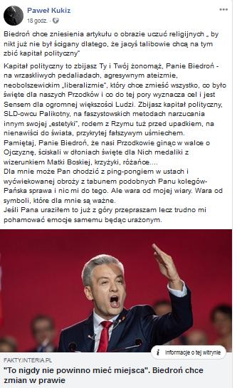 Kukiz Facebook