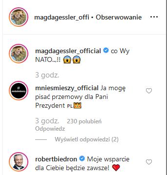 Magda Gessler na prezydentkę
