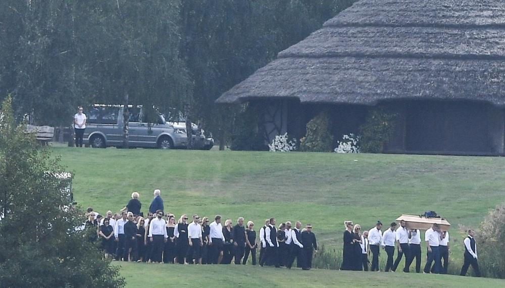 Pogrzeb Piotra Woźniaka-Staraka
