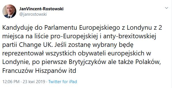 rostowski tweet