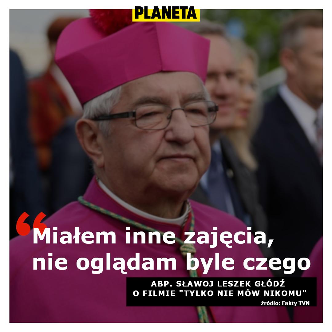 """Sławoj Leszek Gódź o filmie """"Tylko nie mów nikomu"""""""