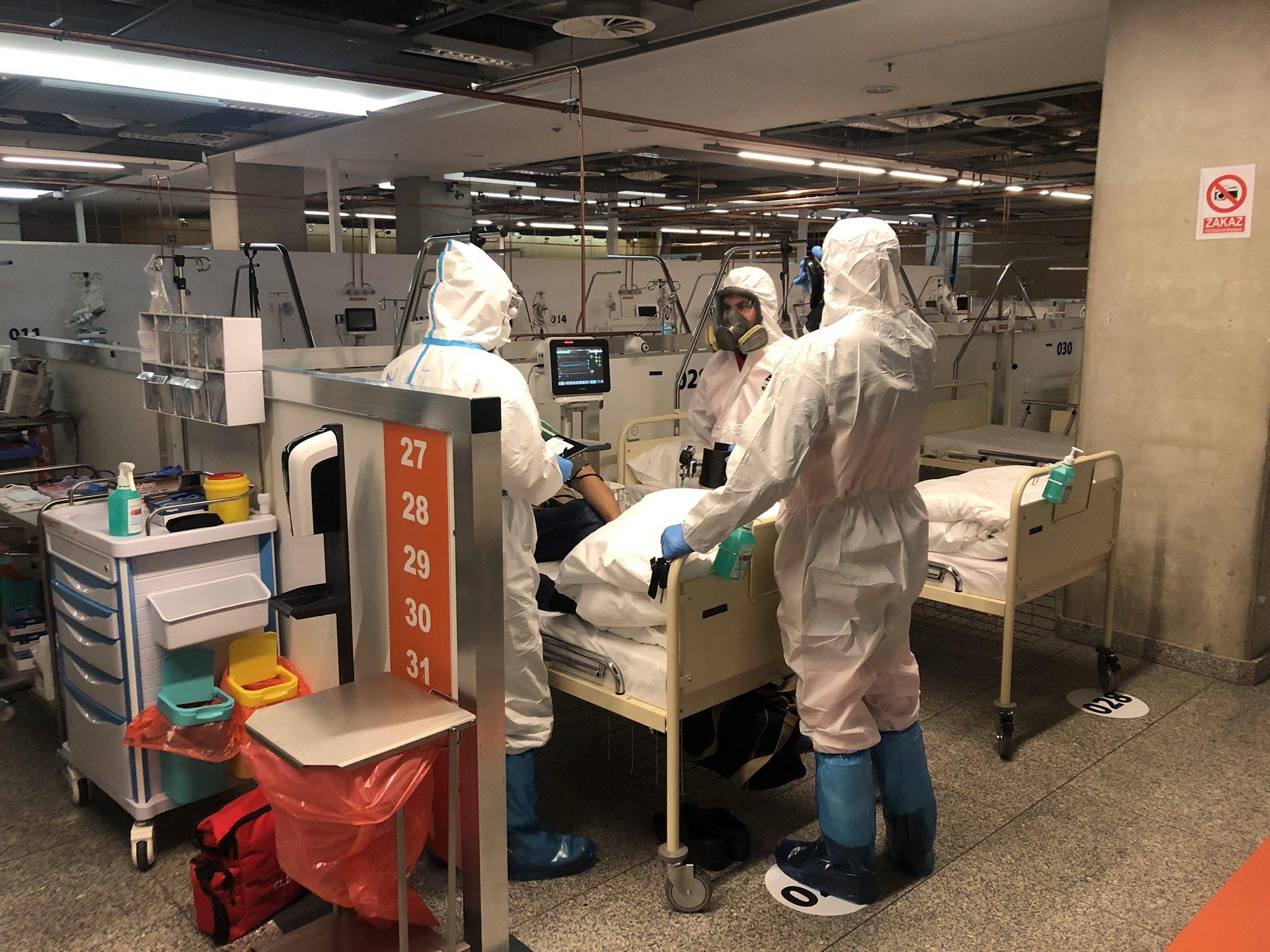 Szpital Narodowy w Warszawie przyjął pacjenta