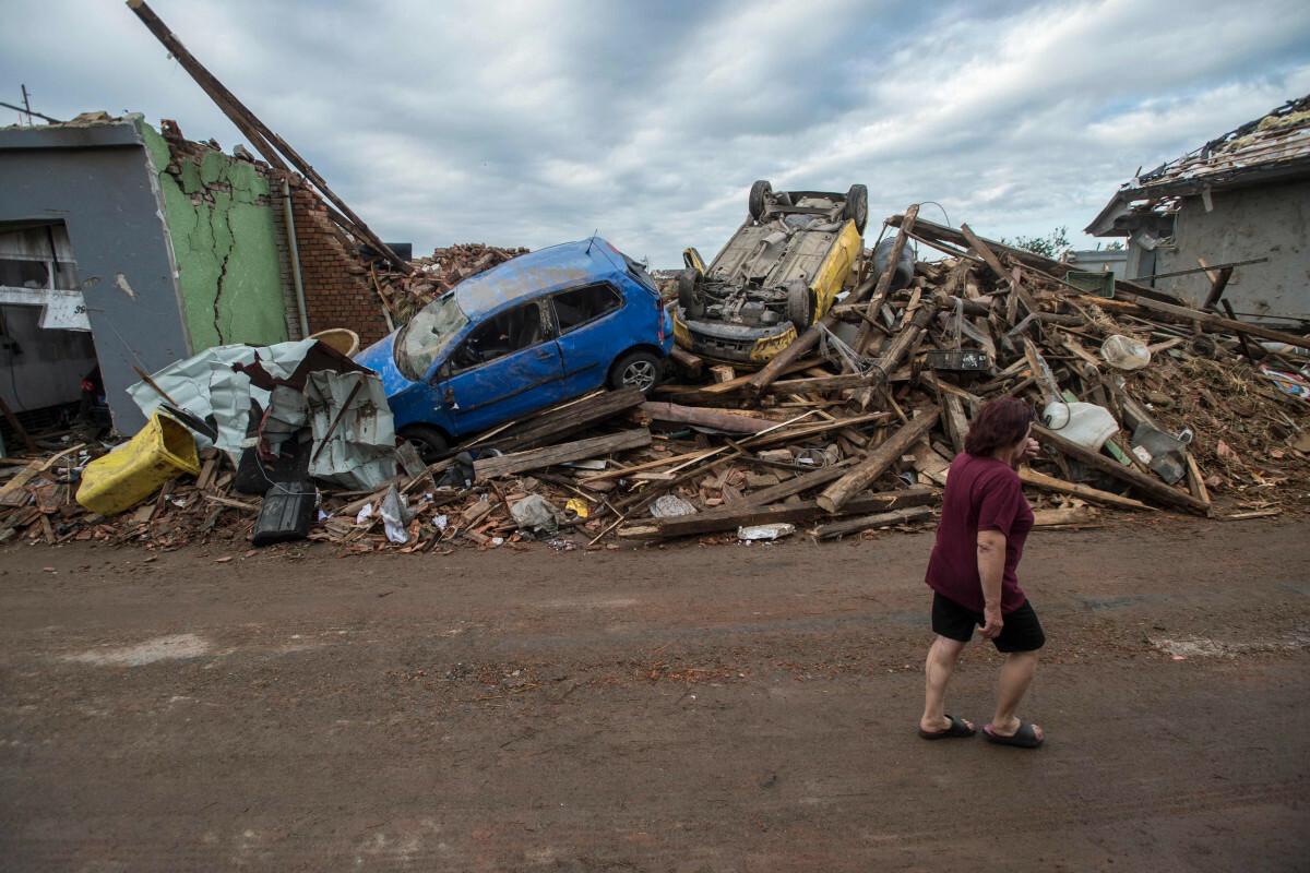 Tornado w Czechach