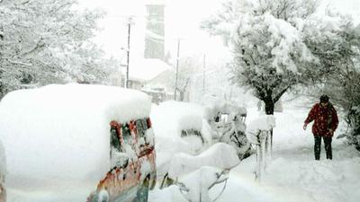 Burza śnieżna w Polsce