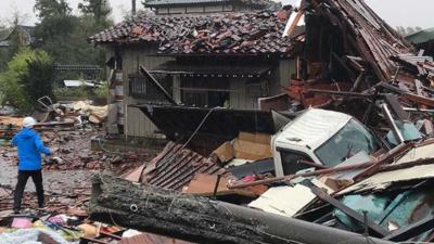 Kataklizm w Japonii - tajfun Hagibis zabija!
