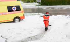 Pogoda w Europie szaleje - Słowenia w lipcu wygląda jak w zimie