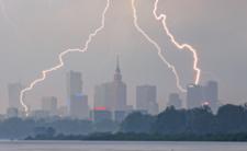 Alerty IMGW - burze z gradem w Polsce