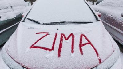 W Polsce spadł pierwszy śnieg - W Tatrach trudne warunki pogodowe!