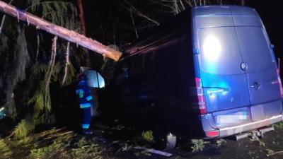 Pogoda w Polsce jak wściekła - huragan Julia spowodował ogromne zniszczenia