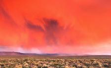 Pomarańczowa chmura znad Sahary - pył nadciąga nad Polskę