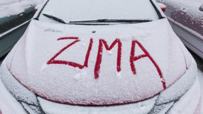 Początek zimy w Karkonoszach - spadł pierwszy śnieg!